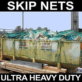 Net World Sports Skip Nets/Trailer Nets/Cargo Nets (ULTRA HEAVY DUTY) (Green) **5 SIZES (18ft x 12ft)