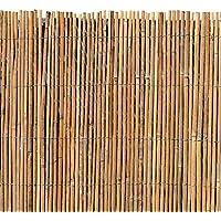 Bambusmatte Sichtschutz Bambus Gartenzaun Windschutz Sichtschutzmatte 200 x 200