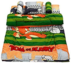 BSB Trendz Cotton 5 Piece Baby Bedding Set - Abstract, Multicolour