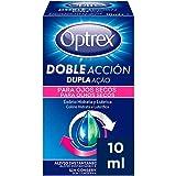 Optrex Colirio Doble Acción para Ojos Secos, Multidosis, Estándar