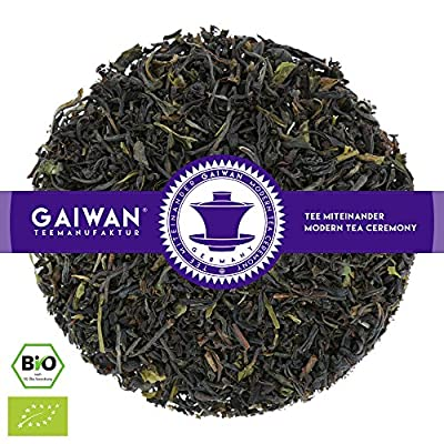 """N° 1236: Thé noir bio """"Darjeeling Selim Hill FTGFOP1"""" - feuilles de thé issu de l'agriculture biologique - GAIWAN® GERMANY - thé noir de Inde"""