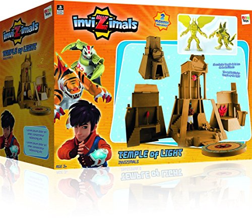 Imc Toys - 030084 - Figurine - Playset Temple De Lumière Invizimals