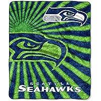 Northwest NFL Seattle Seahawks Strobe Sherpa Überwurf Decke, 50x 152,4cm