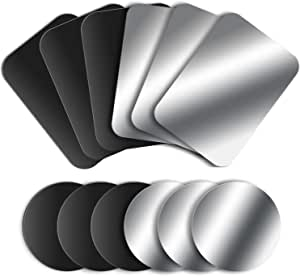 Mosuo 12 Stück Metallplatte Metallplättchen Elektronik