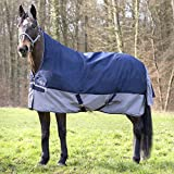 EQUI-THÈME Regendecke TYREX 600D, High Neck ohne FLEECE, Größe (cm):145