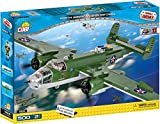 COBI 5541 - Jeu de Construction North American Small Army B-25 Mitchell, Vert/Gris/Noir - 500 Pièces