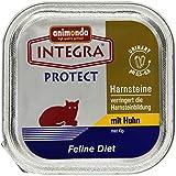 Animonda Integra Protect Diät-Katzenfutter Struvit Huhn, 16 x 100 g Schale