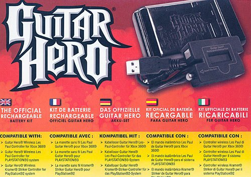 Guitar Hero - Battery Pack (alle Systeme)