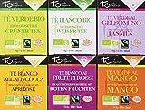 Touch Organic Confezione 6 Astucci Tè Assortiti - 91 gr