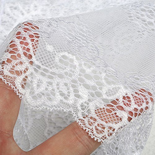 Chinget Damen Slips Breathable Unterwäsche Hipsters Hollow Soft Panties Weiß