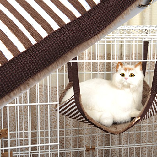 HOOPET® Liegemulde Katzenbett Katzen-Hängesessel M f. Katzen 5 bis 10kg