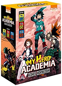 My Hero Academia Coffret starter (2017) Tomes 1 à 3