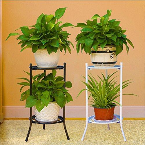 Portavaso piante fiori bestomz fioriere portapiante scaffale in metallo per interno esterno - Porta piante da interno ...