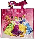 Tasche Running wiederverwendbar und faltbar Lizenz Disney Prinzessinnen. Große Größe 45x 40x 22cm. behalten Unsere Umwelt und nehmen die Kurve grün in sichereres für der Einkaufstasche oder Staubsaugerbeutel wiederverwendbar. Tasche aus Polypropylen Spinnvlies mit Lamination. Tasche weich, saugfähig, wasserdicht und waschbar.
