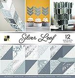 American Crafts Silber Leaf Premium Bedruckt Karton Stack