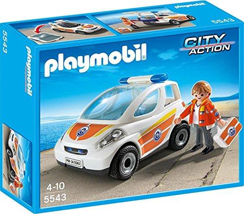 PLAYMObIL CITY ACTION Notarzt-Fahrzeug 5543