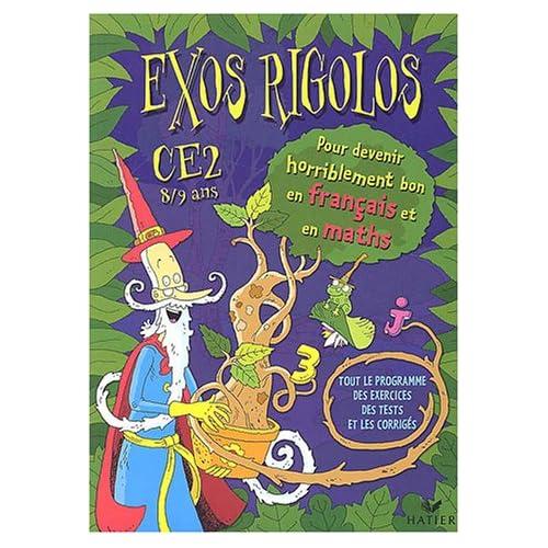 Exos rigolos : Mathématiques, Français, CE2 (Cahier d'activités, autocollants)