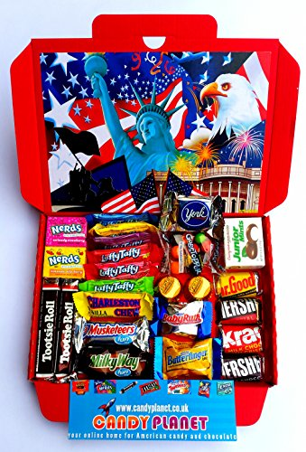 american-hersheys-retro-chocolate-sweets-candy-present-hamper-reeses-mini-bite-fun-size-bars-retro-s