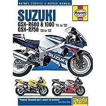 Suzuki GSX-R600, 750 and 1000 Service and Repair Manual: 2001-2002 (Haynes Service and Repair Manuals)
