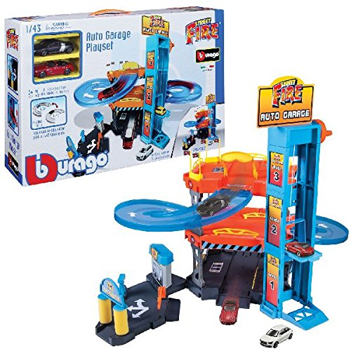 Bburago Maisto France - 30361 -Garages - Auto Garage - Echelle 1/43 4893993303618
