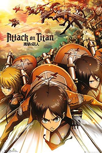 GB eye LTD, Attack On Titan, Attack, Maxi Poster, 61 x 91,5 cm