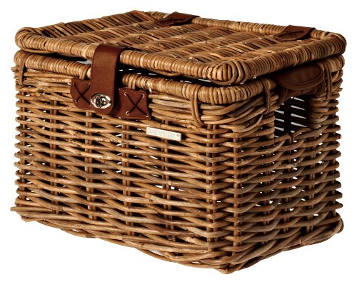 Basil Fahrradkorb Denton M Brown, 41 x 29 x 25 cm -