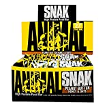 Universal Nutrition Animal Snak Bar - 12 Bar - Peanut Butter Honey and Oats