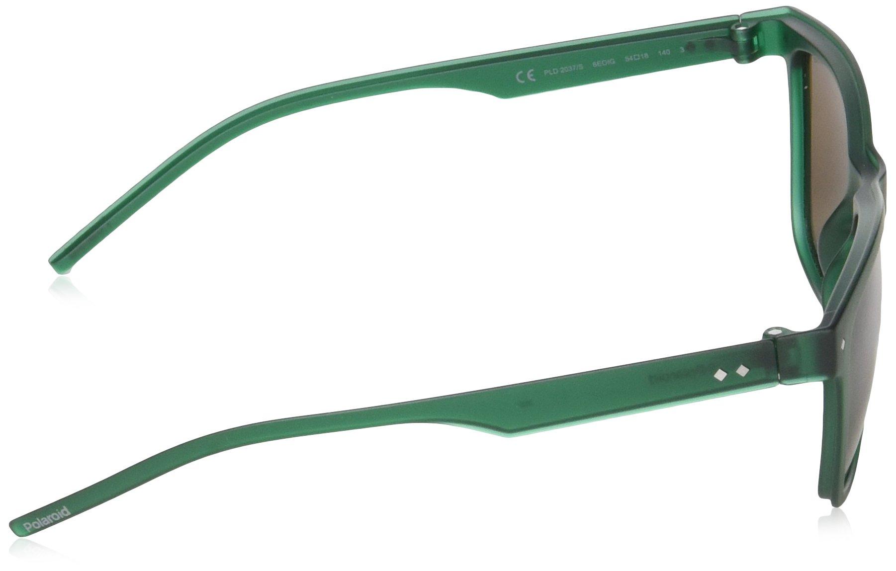 Polaroid PLD 2037/S IG 6EO 54 gafas de sol, Verde (Green/Brown Pz), Hombre