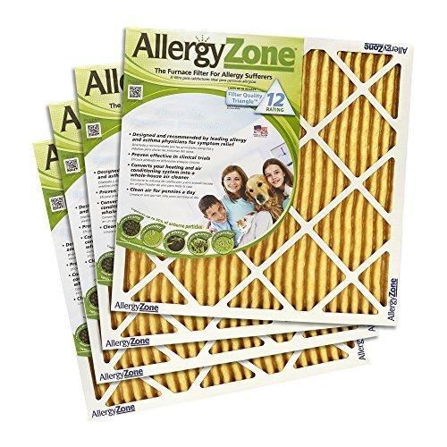 allergyzone Ofen Filter (4er Pack) (16x 20x 1) von allergyzone