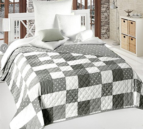 Tagesdecke Bettüberwurf 3d Steppdecke 240x220 Plaid Bettdecke 2 Kopfkissen Rosen Bettwaren, -wäsche & Matratzen