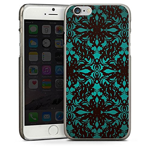 Apple iPhone 4 Housse Étui Silicone Coque Protection Motif Motif Gothique CasDur anthracite clair