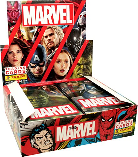 Panini - Marvel Heroes Trading Cards - 1 Display (24 Booster) - Deutsch