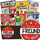 Bester Freund | Süssigkeiten Geschenkbox | Geschenk Set | Bester Freund | 18 Geburtstag Geschenk bester Freund | inkl. DDR Kochbuch
