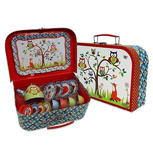 er Dose Tee-Set & Carry Fall (14-teiliges Tee-Set für Kinder) glibbrigem Kröte' (Der Ritter Und Die Prinzessin)