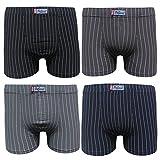Pesail 4-5-6-9-12er Pack Set Herren Retroshorts Baumwolle BOXER Retro Pants