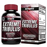 Pur Tribulus Terrestris Bulgare, Augmentate Libido, Force et Endurance, Favorise La Production Naturelle de Testostérone, 95 % Saponin, 80% Protodioscin, Plus Puissante Sur Amazon, 1000 mg 120 Gélules