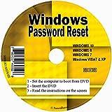 myDriversPlus ✅ Windows Password Reset Disco per togliere Il Recupero Premium CD Forgotten Windows Password su Windows 10, Windows 7, Vista, XP-Uso illimitato. per Desktop e Laptop