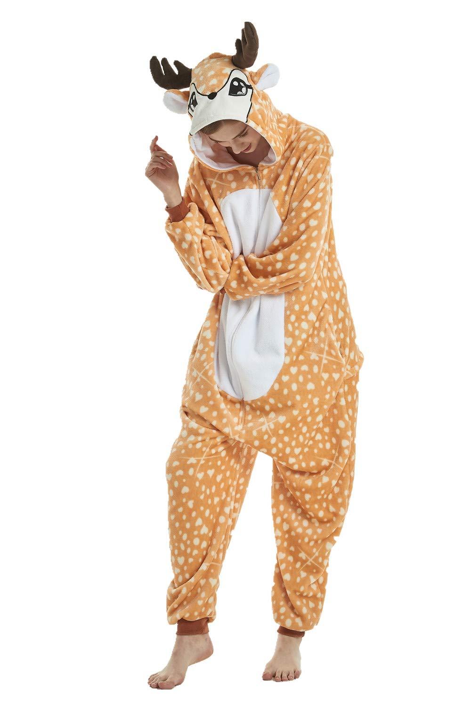 Mystery&Melody Süßes Einhorn Overalls Jumpsuits Pyjama Fleece ...