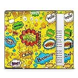 Skins4u Amazon Kindle Oasis Schutzfolie Skin Aufkleber Design Comics Yellow