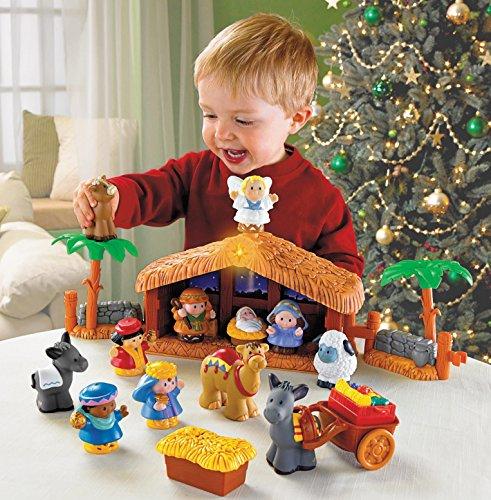 Fisher-Price J2404 Christmas Crib