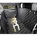 Fragralley Dog Seat Cover Unique Design & Detachable Sherpa Fleece Mat – Ultimate Pet Back Seat Covers for Cars, Trucks… 15