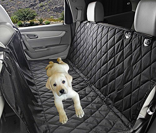 Fragralley Dog Seat Cover Unique Design & Detachable Sherpa Fleece Mat – Ultimate Pet Back Seat Covers for Cars, Trucks… 6