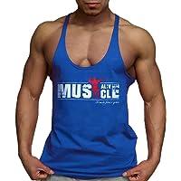 Alivebody Palestra Canotta Uomo Bodybuilding Senza Maniche Stringer Veste Cotone