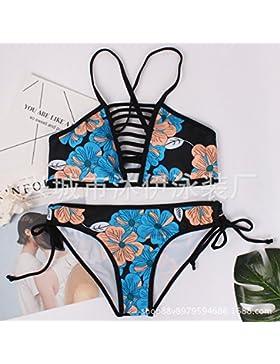 Presidente del cuerpo de seguridad de adelgazamiento _ trajes de baño moderno y cómodo bikini de seguridad dividido...