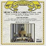 Musica Per I Cardinali by Di Lasso,Orlando,De Mantua Contino (2013-05-03)