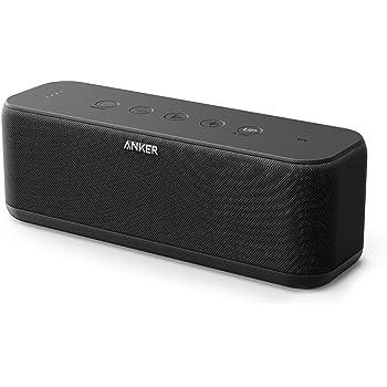 Anker SoundCore Boost 20W Bluetooth Lautsprecher mit BassUp Technologie. IPX5 Wasserfest, verwendbar als Zusatzakku, 20m Reichweite, Hervorragender Klang & Bass