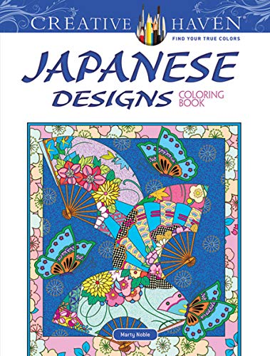Creative Haven Japanese Designs Coloring Book (Adult Coloring) por Marty Noble