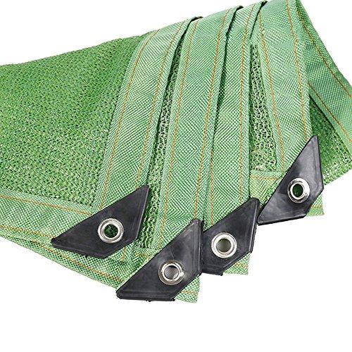 HUO 85% Filet Résistant UV UV De Tissu D'ombre De Sunblock pour L'usine De Fleur De Jardin (Couleur : Green, Taille : 3 * 8m)