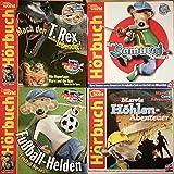 Marvi Hämmer 4 Hörspiele Deutsch und Englisch, Fußball - Helden, Marvis Höhen - Abenteuer, Marvi's Samurai Adventure, Marvis mach den T.Rex lebendig.