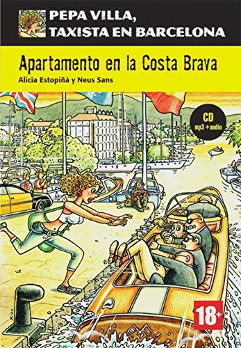 Portada del libro Apartamento en la costa brava. Buch + CD + mp3: Spanische Lektüre für das 3. Lernjahr